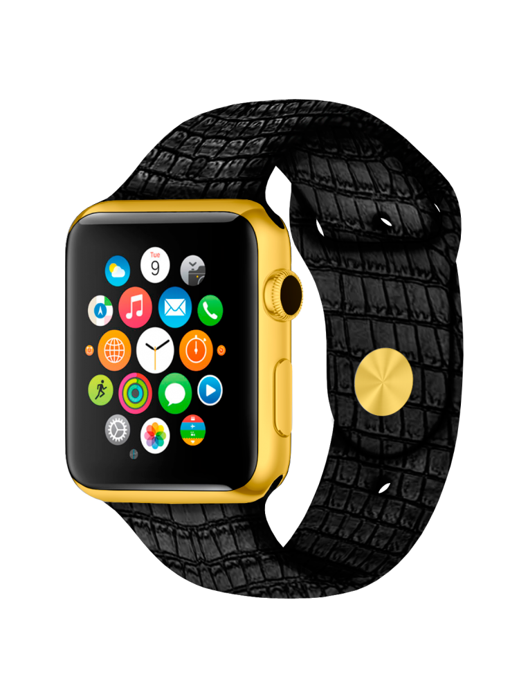 Caimania Apple Watch Gold