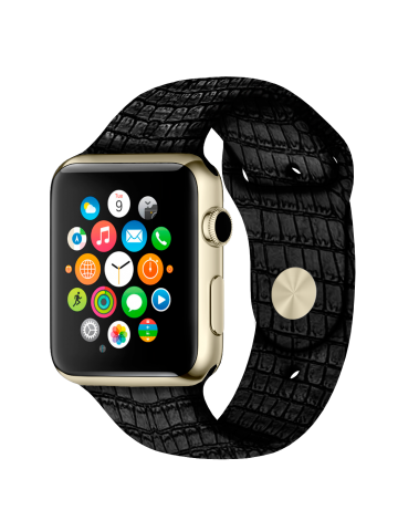 Buy platinum apple watch in London. Jewelry company Caimania.
