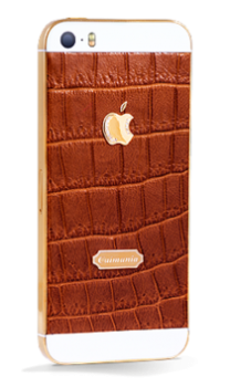 iPhone 5s Leather Gold (Br)